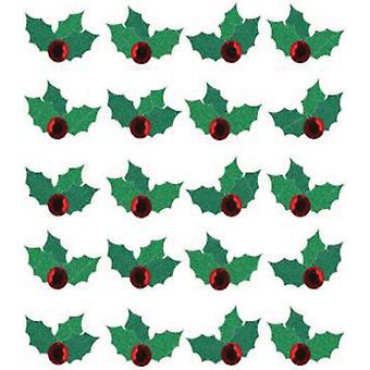 Jolee's Boutique Dimensional Stickers-Christmas Holly Repeats E5020603