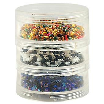 Bead Storage Screw-Stack Canisters 2.75