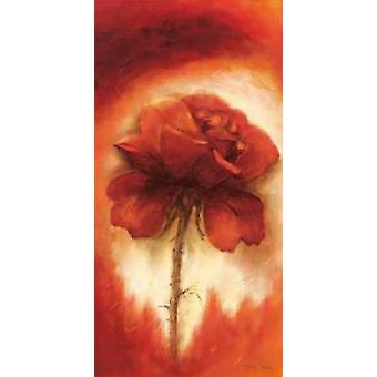 طباعة الملصق الثاني الورود ببيتي جانسما