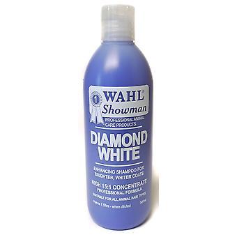 Wahl koncentreret diamant hvid Shampoo 500ml