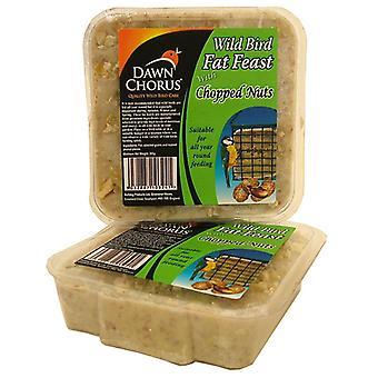 Dawn Chorus Fat Feast nøddeagtig (pakke med 12)