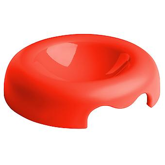 United Pets Kitty Bowl Red 18cm 120ml