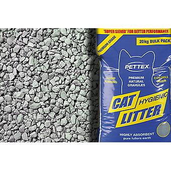 Pettex Premium Grey Cat Litter Granules 3kg (Pack of 6)