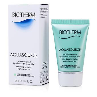 Biotherm Aquasource 48H dyb hydrering efterfyldning Gel (Normal/kombineret hud) 30ml/1 ounce
