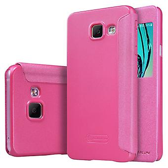 Nillkin vindue smart cover pink Samsung Galaxy A3 2016 A310F