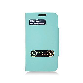 KuKu Mobile Deluxe Dual-Use Flip Pu Leather for Samsung Galaxy S3 - Blue