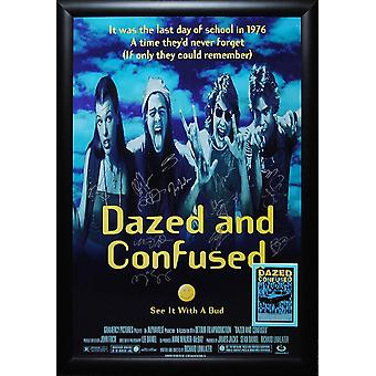 Dazed and Confused -  Signed Movie Poster