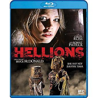 Hellions [Blu-ray] USA import