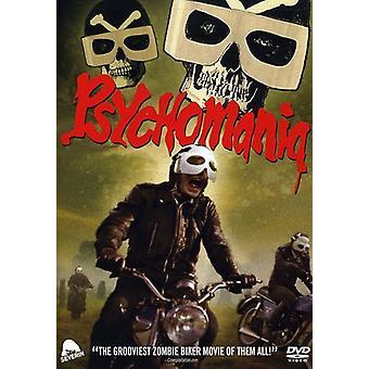 Psychomania [DVD] USA importerer