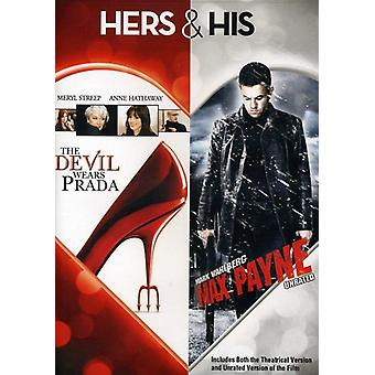 Devil Wears Prada/Max Payne [DVD] USA import