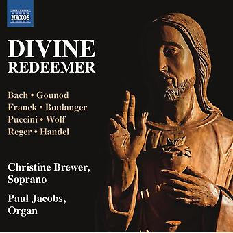 Bach, J.S. / Jacobs / Brewer - Divine Redeemer [CD] USA import