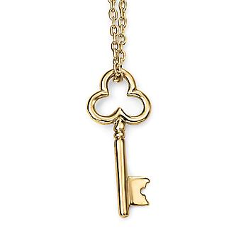 9 ct Gold Key Necklace