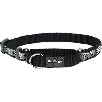 Red Dingo Collar Style Black Paw Impression (Dogs , Walking Accessories , Collars)