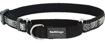 Red Dingo Collar Style Black Paw Impression