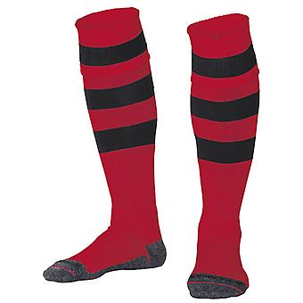 STANNO Original Hooped Socks [black/red] junior
