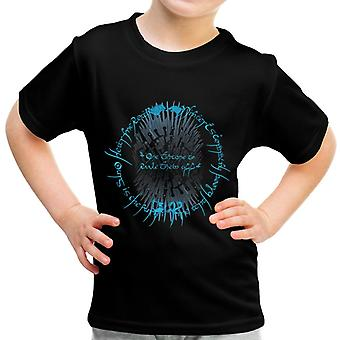 One Throne Lord Of The Rings Game Of Thrones Kid's T-Shirt