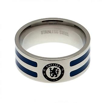 Chelsea Colour Stripe Ring Large