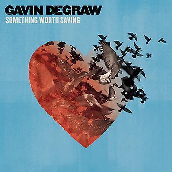 Gavin Degraw - noget værd besparelse [CD] USA import