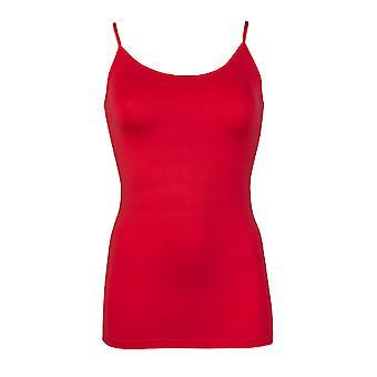 RJ Bodywear Pure Color Dark Red Top (adjustable) 32-011