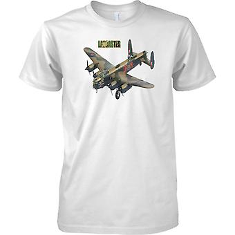 Avro Lancaster Bomber - Legendary WW2 Military Bomber Aircraft - Kids T Shirt