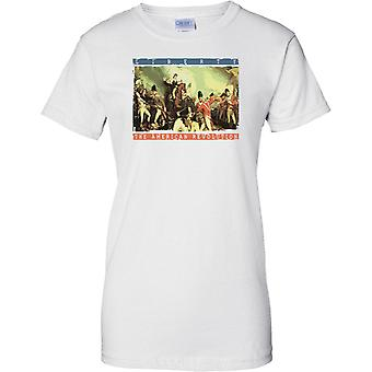 Liberty - The American Revolution - Ladies T Shirt