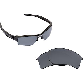 Flak Jacket XLJ Replacement Lenses Blue & Silver by SEEK fits OAKLEY Sunglasses