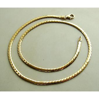Gold necklace 42 cm