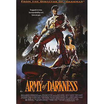 Army Of Darkness Low On Gas Poster Print