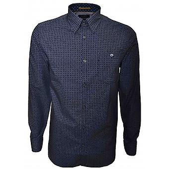 Ted Baker Ted Baker Mens Haansel Long Sleeve Shirt
