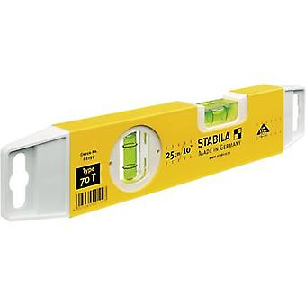 Spirit level 25 cm Stabila 70 T 21