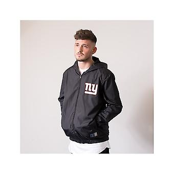 Majestic Athletic Nfl New York Giants Racer Track Jacket