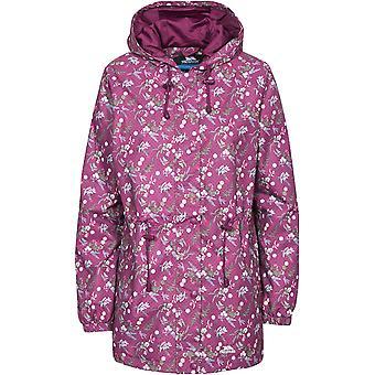 Trespass Womens/Ladies Pastime Hooded Waterproof Floral Print Jacket