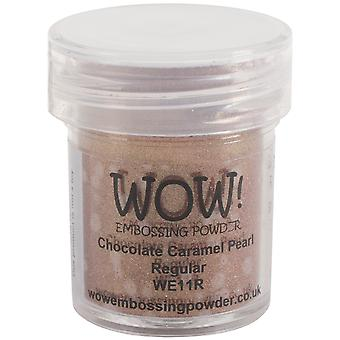 WOW! Embossing Pulver 15ml-Schoko Karamell Perle WOW-WE11R