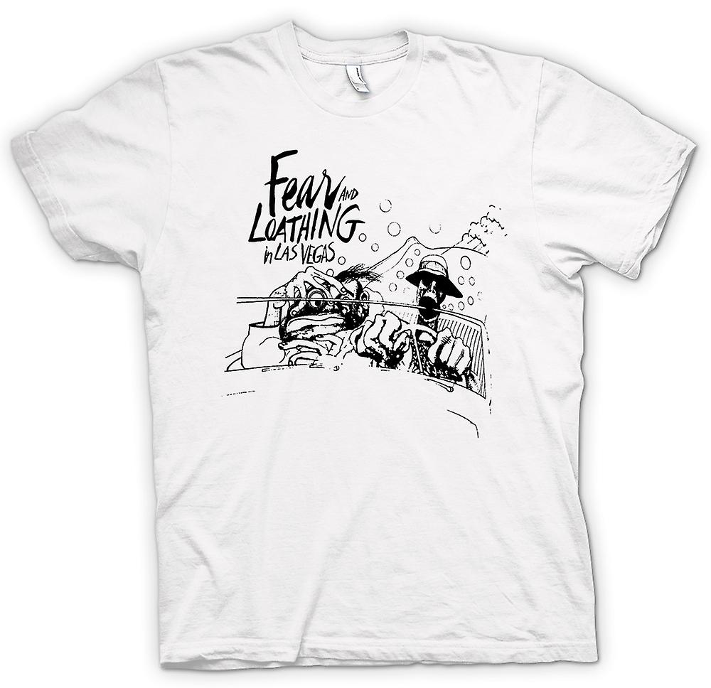 Womens T-shirt - Fear And Loathing - Cartoon - Funny