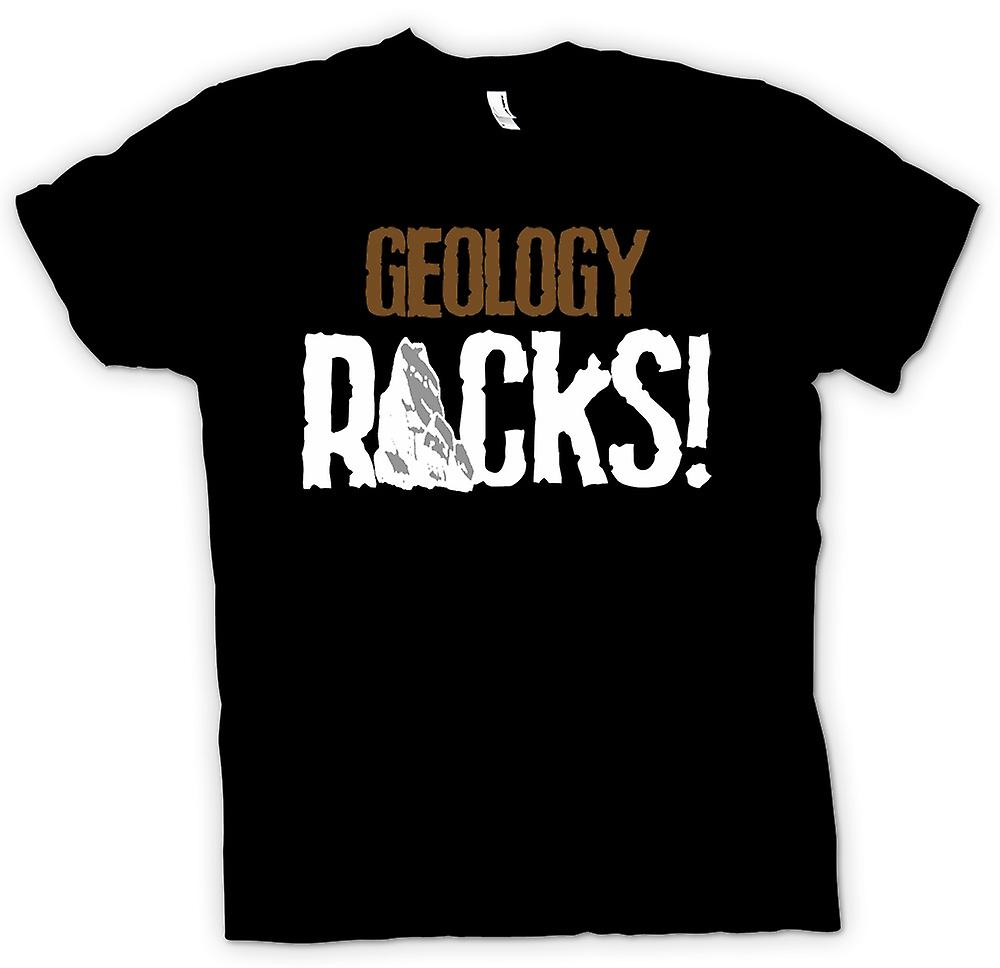 Womens T-shirt - Geology Rocks - Funny