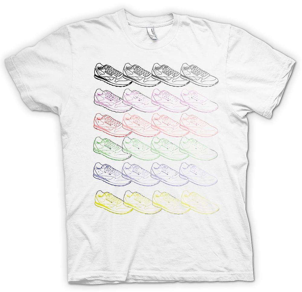 Mens T-shirt - Reebok Trainers Pop Art