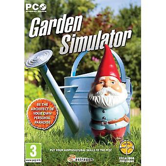 Garden Simulator (PC CD)-fabriks forseglet