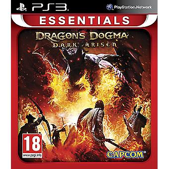 Drachen-Dogma-dunkle entstandene Essentials-PS3-Spiel