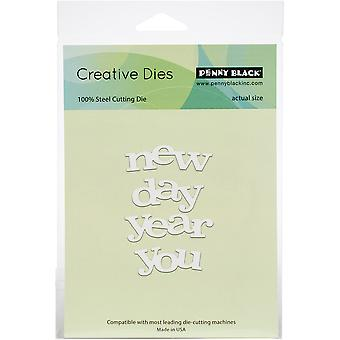 Penny Black Creative Dies-New Day To You 2