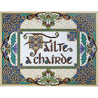 Welcome Friends Counted Cross Stitch Kit-10