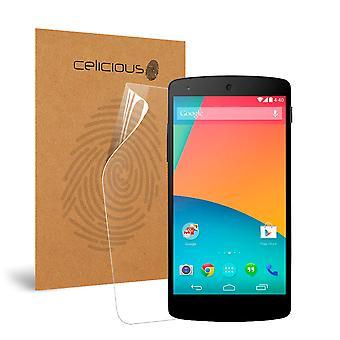Celicious Impact Anti-Shock Shatterproof Screen Protector Film Compatible with Google Nexus 5