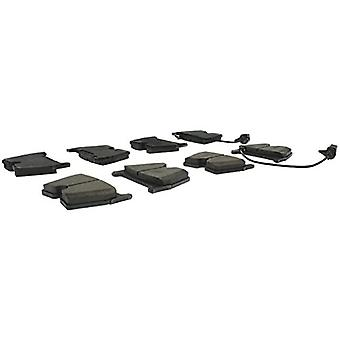 StopTech 308.10290 Street Brake Pad (Front with Shims and Hardware), 5 Pack