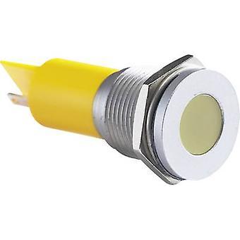 APEM LED indicator light White 24 Vdc Q16 F1 CXXW 24E