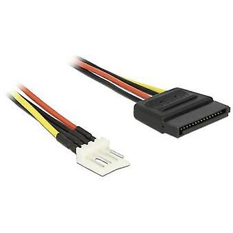 Cable [1 x SATA enchufe - 1 x conector Floppy de 4 pines] 0,24 m negro, rojo, amarillo