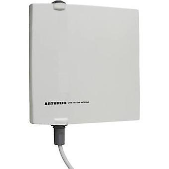 Kathrein BZD 40 DVB-T/T2 active planar antenna Outdoors Amplification: 18 dB Grey