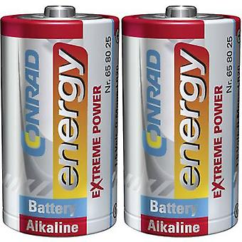 D battery Alkali-manganese Conrad energy Extreme Power LR20