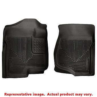 Husky Liners 53101 Black X-act Contour Front Floor Line FITS:CADILLAC 2007 - 20