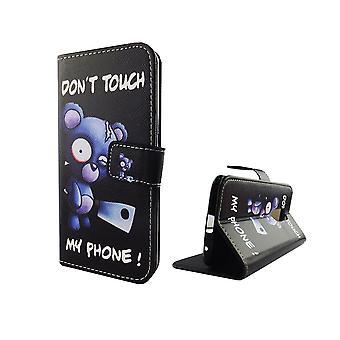 Borsa custodia mobile cellulare ZTE Axon 7 orso con ascia