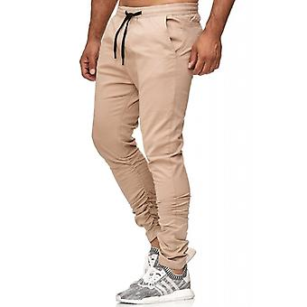 Beige de chinos tazzio fashion mens