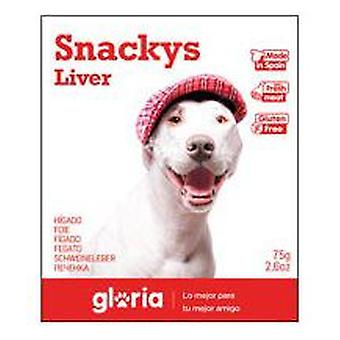 Creaciones Gloria Display Liver Hearts (30 Sachets 75gr) (Dogs , Treats , Biscuits)